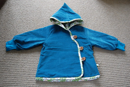 Blue Sparrow Coat.