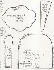 placa noel2[1] (alinnerj) Tags: natal fuxico feltro pap molde duende passoapasso moldedenatal nataldefeltro