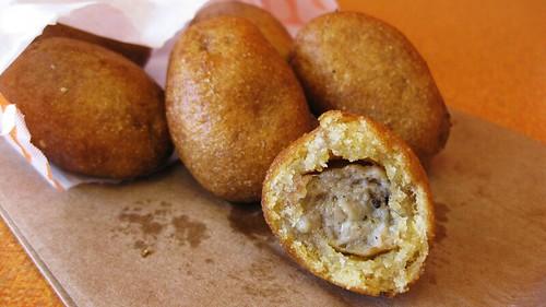 Dunkin Donuts Sausage Pancake Bites Tampa Bay Food Monster