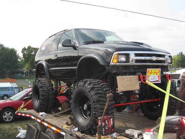 truck 4x4 chevy blazer carlisle nationals 2010 lifted