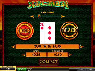free Archer gamble bonus game