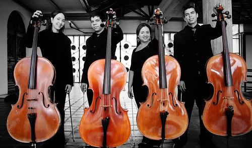 Cuarteto Centro-Occidental de la Academia Latinoamericana de Violonchelos