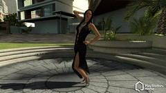 PlayStation Home: Onyx Dress