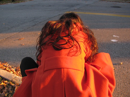 Girl in the Orange Coat 4