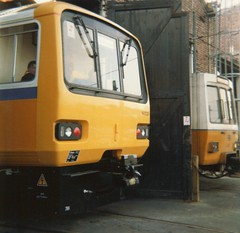 South Gosforth (colin9007) Tags: metro south shed tyne class wear depot pacer 143 gosforth