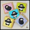 Baby Ninja Cookies (Sweet Pudgy Panda) Tags: baby cookies shower ninja sugar picnik sweetpudgypanda