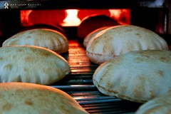 As Fresh as it Gets! (puthoOr photOgraphy) Tags: picnik pitta flatbread khubz  pittabread arabicbread nikond40 puthoor
