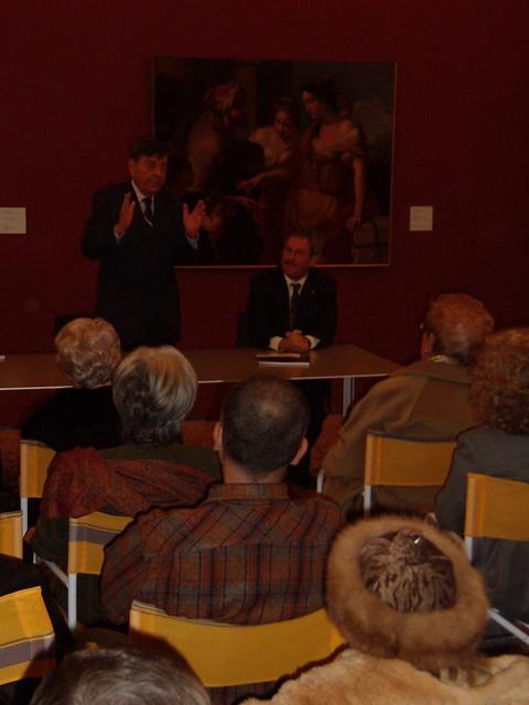Inaugurazione mostra Tono Zancanaro a Rovigo