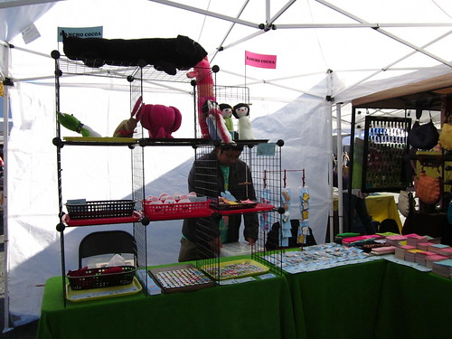 Our tables at Craftstravaganzaa!