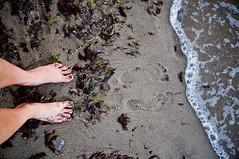 footprints (Ewelina Korzeniowska) Tags: sea nikon footprints poland polska nikkor mika orowo ewelina morze pomorskie ewelinapotnicka ewelinaplotnicka potnicka plotnicka footprintsownlogcom