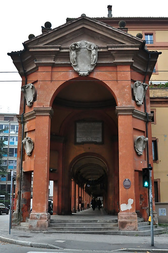 Portico at Saragozza Gate