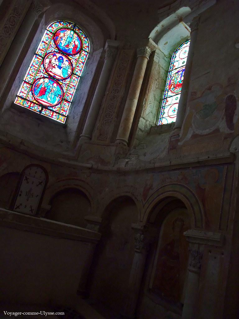 Chapelle et ses vitraux
