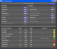 FM Coach Calculator for FM2011