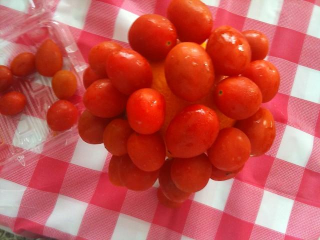 tomato topiary