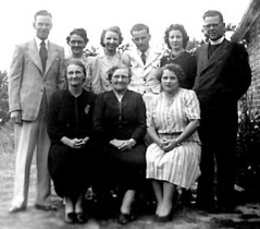 Adam family in Goulburn c1950s
