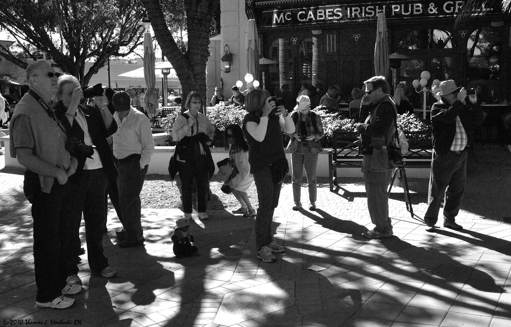 Gathering for the Photo Walk