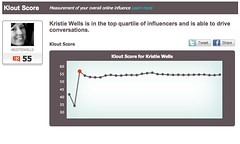 Klout Influence Score Analysis