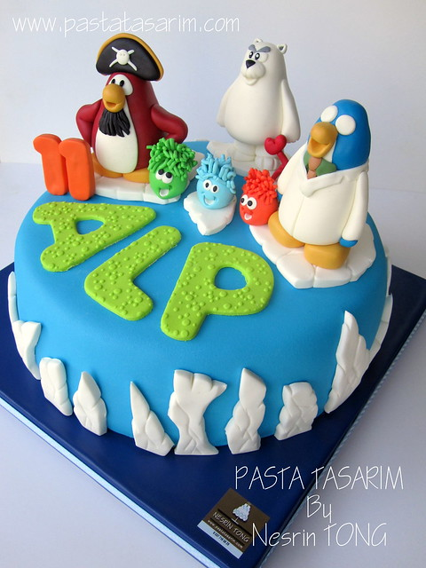 CLUP PENGUIN CAKE - ALP'S BIRTHDAY