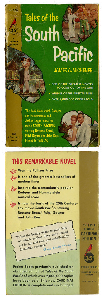South Pacific_movie tie-in_tatteredandlost