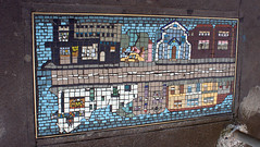 Newtown mosaic (Val in Sydney) Tags: mosaic australia nsw newtown footpath mosaique trottoir