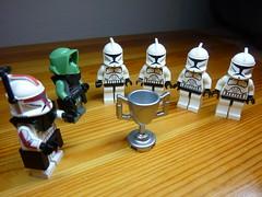 Clone training: Day 10 of 10 (N-11 Ordo) Tags: wood clones sw commander ordo n11 clonetraining swbrick n11ordo