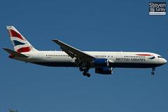 G-BNWU - 25829 - British Airways - Boeing 767-336ER - Heathrow - 100617 - Steven Gray - IMG_4090