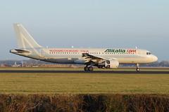 EI-DSA A320-214 Alitalia (eigjb) Tags: amsterdam airport colours aircraft special airbus schiphol ams alitalia a320 eham airone a320214 eidsa