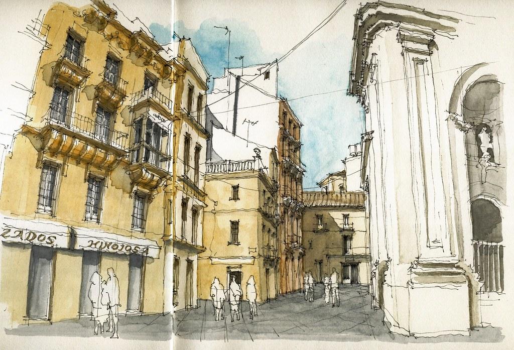 Málaga, calle San Juan
