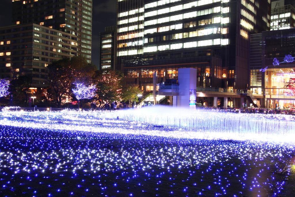 Tokyo-midtown Xmas illumination 2010 (6)