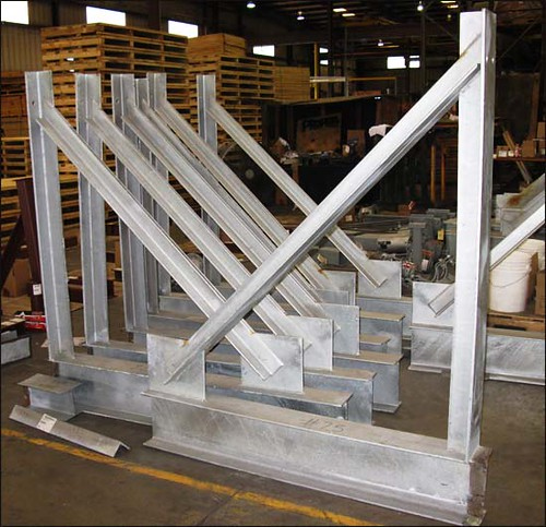 Structural Supports for Vessels in an Oil Refinery in Texas