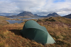 canoe camping highands of Scotland