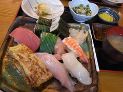 にぎり寿司(900円)