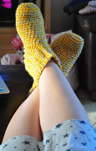 My own slipper socks
