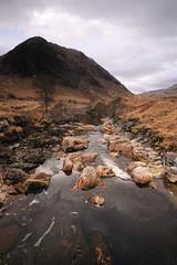 Down The Glen. (stonefaction) Tags: landscape scotland scenery glen loch moor etive faved rannoch