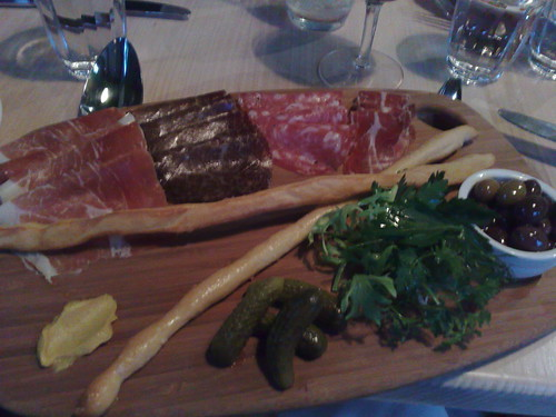 artisan cured meats & salumi, hand-rolled grissini