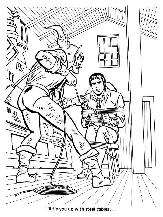 Spider-Man Unmasked! Coloring Book032