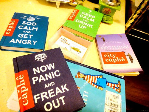 City Caphe - Books for browsing