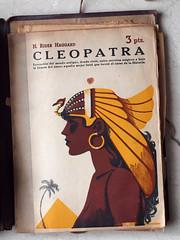 """Cleopatra"". Sin firma, posible portada de Manolo Prieto (obaku estudio) Tags: 1940 ilustracin manoloprieto diseogrficoantiguo"