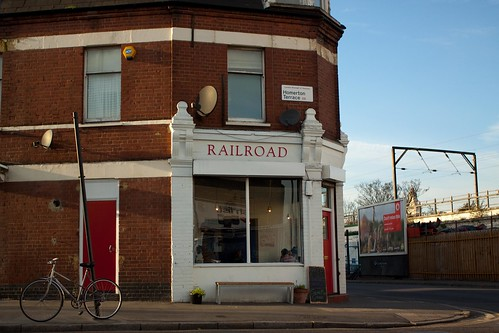 Railroad Cafe Hackney