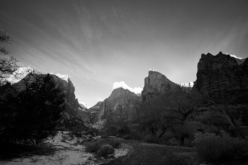 Zions National Park Sunrise