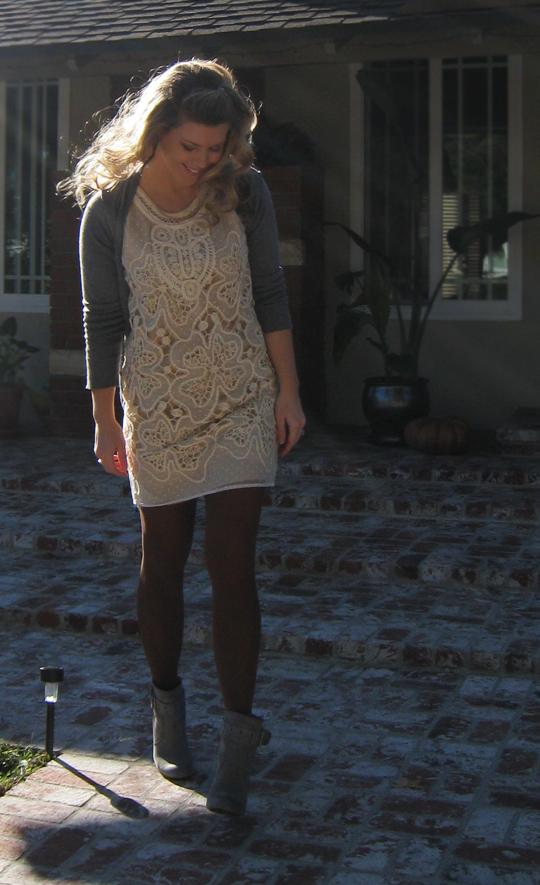 what I wore on Thanksgiving+dark