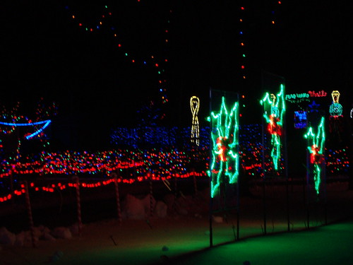 2010 Rotary Winter Wonderland Christmas Lights, Marshfield ...