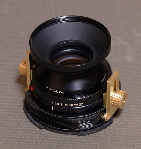 Tilt system lens
