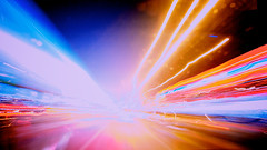 Speed - Still Photography No. 1 (Dragos Bardac) Tags: city longexposure light car night speed lighttrails 1022 canon40d canonefs1022f3556usm