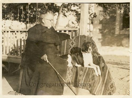 Cushman, Emma Darling, 1863-1931. Portrait.
