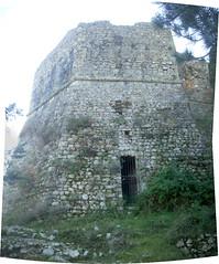 Stitched_ Sora - rocca sorella ingresso nord (Vagabondo_Ciociaro) Tags: castle fort norman rocca sora riccardo 2010 rifugio sorella ciociaria collectio