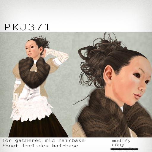 booN PKJ371 hair
