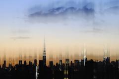 Dancing On Rooftops (codydavisphotos) Tags: new york city building skyline brooklyn painting state manhattan empire chrysler