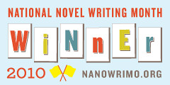 Nanowrimo 2010 Winner Badge