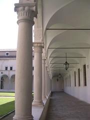 Isola San Giorgio - Colonna Chiostro